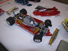 F1 Ferrari Model.