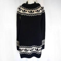 best value 2e148 3e3c5 adidas Originals Hoodie XS Sweater Dress Black Tunic Knit Long Sleeve Sport  Schwarze Tunika, Adidas