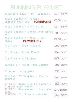 running playlist really gets u pumped!!!