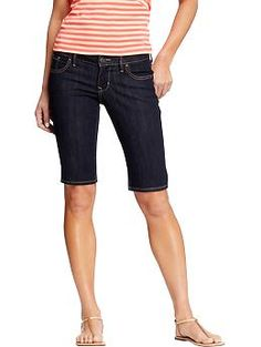 Old navy rock star denim Bermuda shorts Worn once. Slim fit 11 inseam Old Navy Shorts Bermudas Short Outfits, Summer Outfits, Casual Outfits, Fashion Outfits, Blue Outfits, Fashionable Outfits, Stylish Clothes, Fashion 101, Denim Fashion
