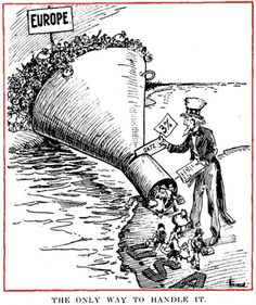 Find a summary, definition and facts about the 1921 Emergency Quota Act for kids. United States history and the 1921 Emergency Quota Act. Information about the 1921 Emergency Quota Act for kids, children, homework and schools. Political Satire, Political Cartoons, First Red Scare, Immigration Act Of 1924, Society Problems, World History, Family History, Retro, Social Studies