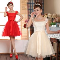 2013 Especial Ocasião Lady Vestido para casamento de alta qualidade Evening Formal Vestido Curto projeto US $27.95
