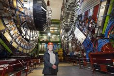 Peter Higgs is not your square peg/round hole kind-a-guy. Visiting CERN.