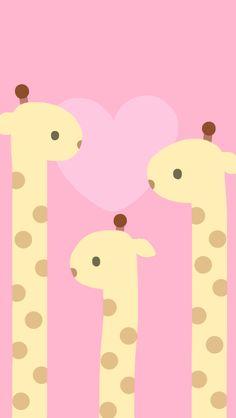 Fondo de pantalla de jirafas / wallpaper of giraffes