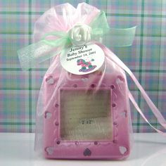 Homemade Baby Shower Favors Ideas-  LOVE IT!  Looking for new and economical ideas!
