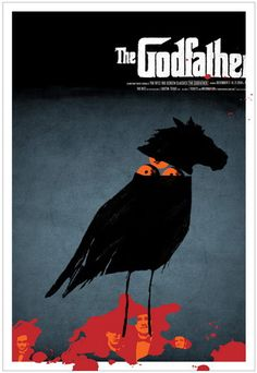 The Godfather Movie Poster by Jeff Kleinsmith