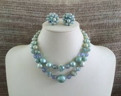 Winter Blues curated by Etsy Vintage Jewelry Team on Etsy