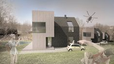 Modern Barn on the Hill designed by FAAR architekci. Modern Barn, Home Fashion, Patio, Mansions, House Styles, Outdoor Decor, Design, Home Decor, Decoration Home