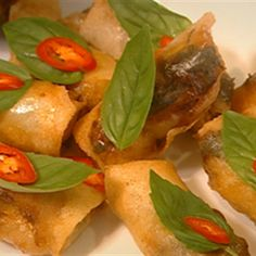 Try this Prawn Spring Rolls recipe by Chef James Reeson. This recipe is from the show Alive and Cooking.