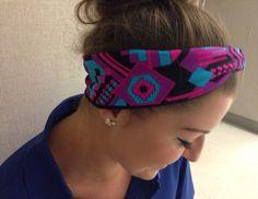 Aztec ~ Yoga Headband ~ Running Headband ~ Workout Headband ~ Boho Headband ~ Fitness headband ~ NON-SLIP headband ~ Wide Headband No Slip Headbands, Running Headbands, Sports Headbands, Headbands For Women, Workout Headband, Yoga Headband, Wide Headband, Headband Styles, Yoga Hair