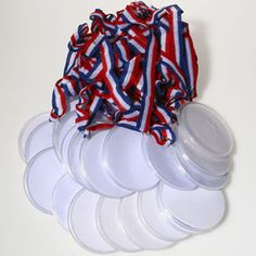 So cute for the Olympics...Design Your Own Award Medals