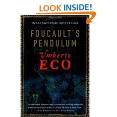 Amazon.com: Foucault's Pendulum (9780156032971): Umberto Eco: Books