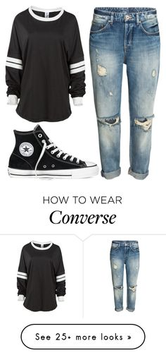 """""""Untitled #74"""" by iouzzani on Polyvore featuring Converse"""