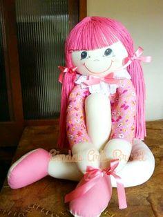 Boneca Pernuda Vivi