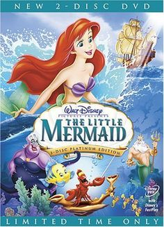 DVD Games - The Little Mermaid DVD Walt Diesny TwoDisc Platinum Edition 1989 >>> Check out the image by visiting the link.
