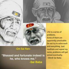 Sai Baba Quotes, Devotional Quotes, Om Sai Ram, Peaceful Life, Meditation, Life Quotes, Spirituality, Wisdom, Faith
