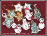 Christmas ornaments:  Great tips for making salt dough ornaments. Several tried & truerecipe options too.
