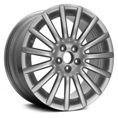 Remanufactured Silver Alloy Factory Wheel - Part Number by Replace. Size: x Bolt Pattern: 5 x Offset: Wheels Tires. Volkswagen R32, Alloy Wheel, Silver, Money