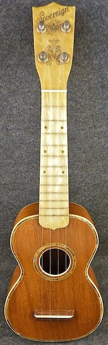 Sovereign Soprano (made by Harmony around 1940) #LardysWishlists #Ukulele ~ https://www.pinterest.com/lardyfatboy/ ~