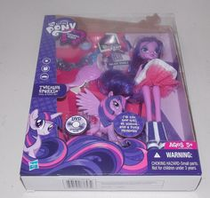 my little pony equestria girls twilight sparkle doll pony set princess new hasbro