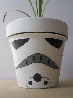 star war centerpiece ideas clay pot - Google Search