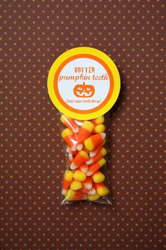 Halloween gifts for students cuter with the black candy corns