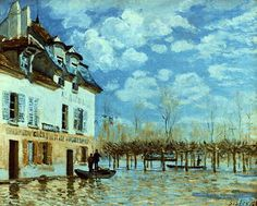 Port Marly, 1876 //Alfred Sisley /  Flickr