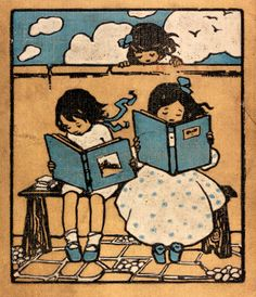 Children's book cover design, Blackie & Son Ltd, c. 1910, UK