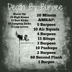 Death by burpees