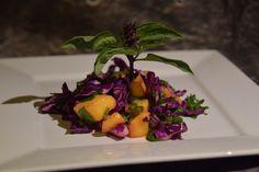 Mango Slaw, a #vegan #glutenfree #allergyfriendly side dish #recipe