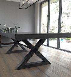 Gorgeous Grey Oak Dining Table