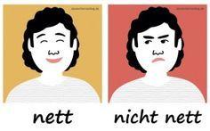 nett_nicht_nett_Adjektive_Deutsch_deutschlernerblog