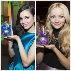 """80.4k Likes, 5,260 Comments - Descendants 2 (@disneydescendants) on Instagram: """"Would you want a Evie or Mal candy apple?"""""""