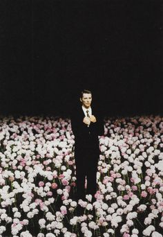 PETER PABST     STAGE SET FOR PINA BAUSCH'S 'NELKEN' ('CARNATIONS'), 1982