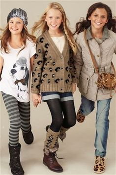 She loves the legwarmers - Next Kids Girls Tween Fashion Clothing Style