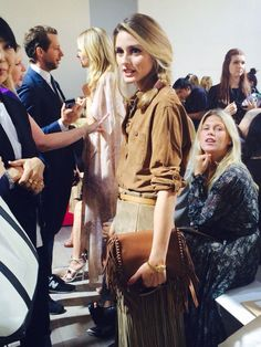 Olivia Palermo - New York Fashion Week SS15