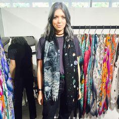 Emma J Shipley x Star Wars scarf ⭐️ Star Wars fashion ⭐️ Geek Fashion ⭐️ Star Wars Style ⭐️ Geek Chic ⭐️ Geek Fashion, Star Fashion, Star Wars, Geek Chic, Kimono Top, Stars, Instagram, Women, Women's