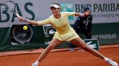 Gabriñe Muguruza vence a Serena Williams