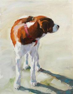 Looking Back - Original Fine Art for Sale - © Clair Hartmann