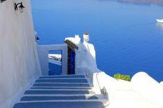 City of Santorini, Greece