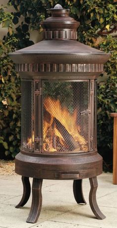 The Eastern Influence Outdoor Fireplace Is Made From Sturdy Steel And Cast  Iron Components, And Is One Of The Largest Outdoor Fireplaces On The UK  Market