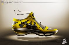 139f0dd16178bf Nike   Skipping rope s equipment on Behance Skipping Rope