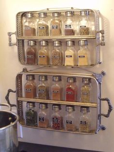Keep your spices organized and easily accessible with these clever spice storage solutions from HGTV.com, from DIY and upcycled creations to tried-and-true spice racks.