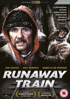 Runaway Train starring Angelina Jolie's father: Jon Voight & the brilliant Eric Roberts. Rent Movies, Netflix Movies, Iconic Movies, Excellent Movies, Good Movies, Movie List, Movie Tv, Prison, Alaska