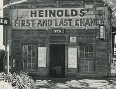 Heinold's First and Last Chance Saloon, dates from 1880s, hangout of Jack London: go visit! Jack London Square, 12-1am