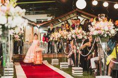 ♥♥♥  Casamento real da Lorruany e do Breno Deus escreve certo por linhas tortas e foi assim que a Lorruany e o Breno chegaram a este casamento real tão lindo e inspirador! http://www.casareumbarato.com.br/casamento-real-da-lorruany-e-do-breno/