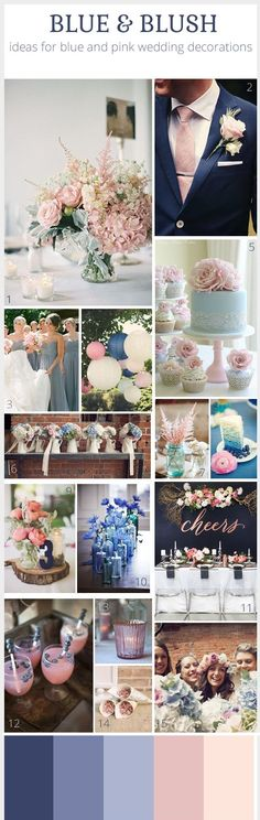 Blue and blush inspiration!