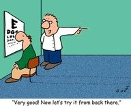 Optical humor!