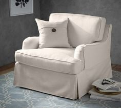 The SoMa Hawthorne Armchair has all the traditional details you're looking for in a compact size that fits your space and at a price that fits your budget.