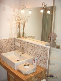 Klasse Idee Für Ein Kleines Badezimmer Eine Duschwand Zum ... Bw Kleines Bad Dusche Wandverkleidung Ideen